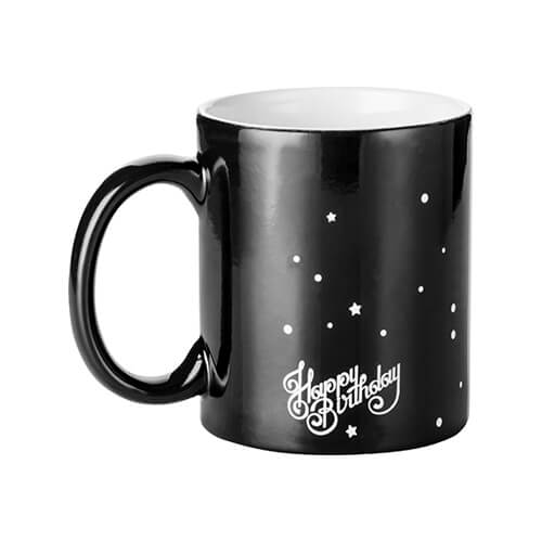 Magic cup with HAPPY BIRTHDAY engraver