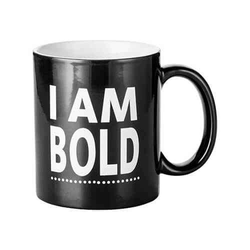 Magic cup with I AM BOLD engraver