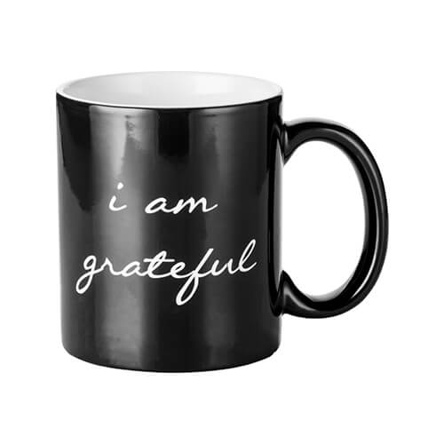 Magic cup with I AM GRATEFUL engraver
