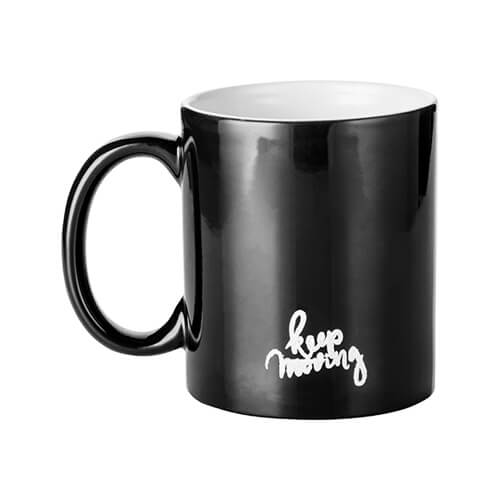 Magic cup with KEEP MOVING engraver