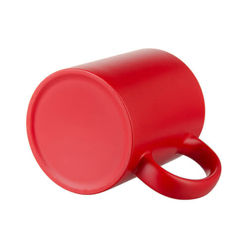 Magic, red, matte mug for  sublimation printing