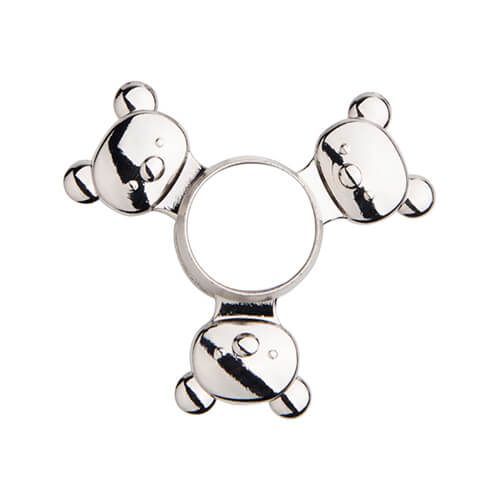 Metal spinner for sublimation - Panda