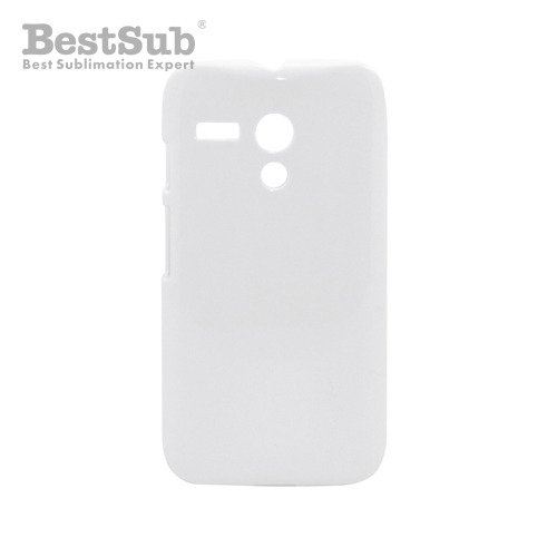 Motorola Moto G  3D case white glossy Sublimation Thermal Transfer