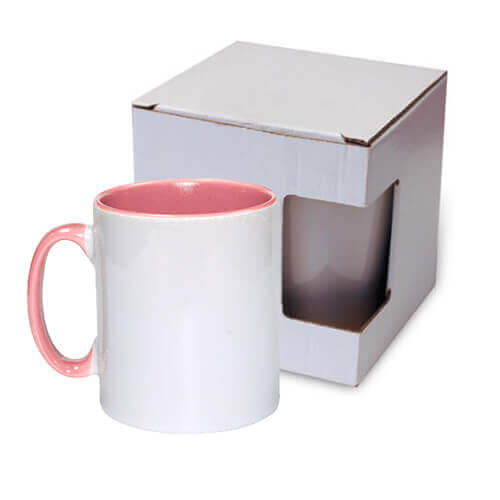Mug 300 ml Funny pink with box Sublimation Thermal Transfer