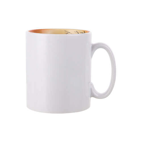 Mug 300 ml with the Halloween inside Sublimation Termotransfer