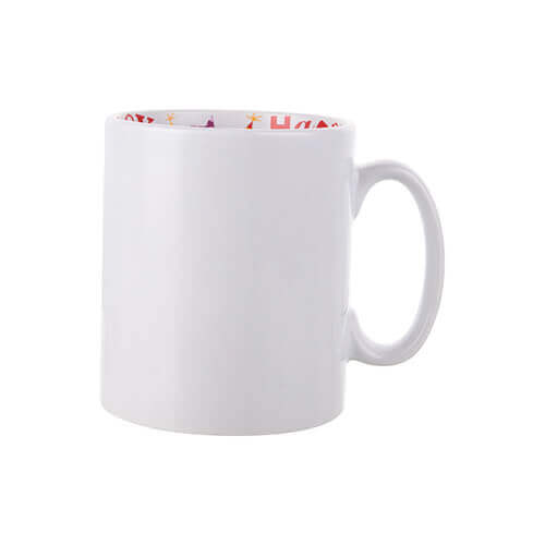 Mug 300 ml with the Happy Birthday inside Sublimation Termotransfer