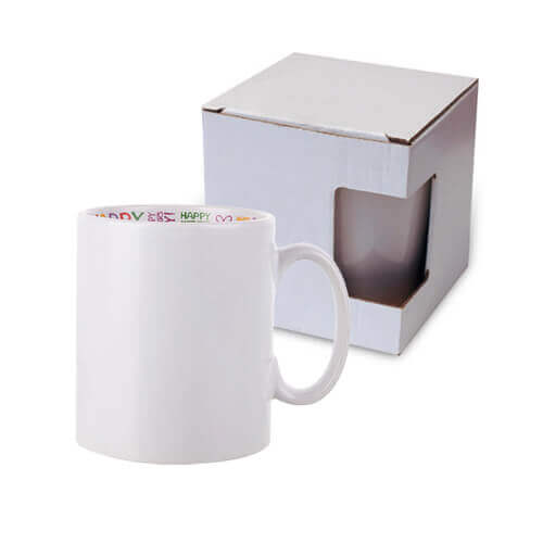Mug 300 ml with the Happy Mother's Day inside with box Sublimation Termotransfer