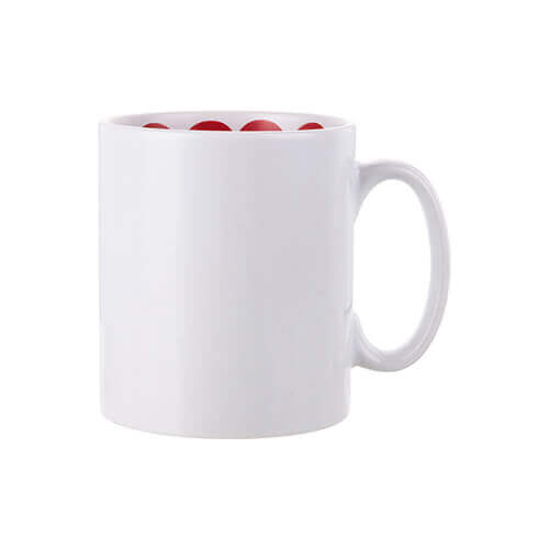 Mug 300 ml with the I love You inside Sublimation Termotransfer