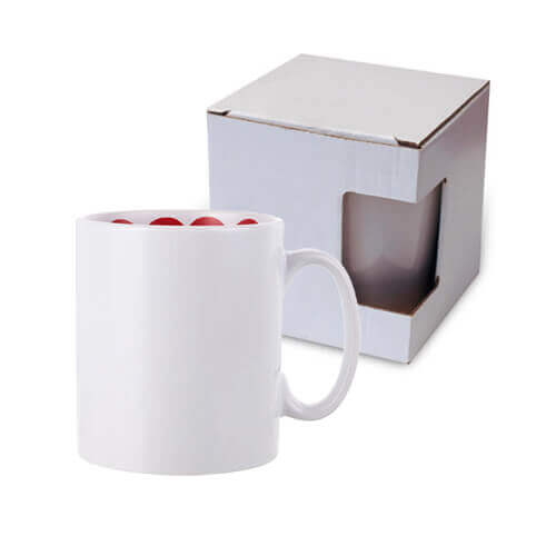 Mug 300 ml with the I love You inside with box  Sublimation Termotransfer