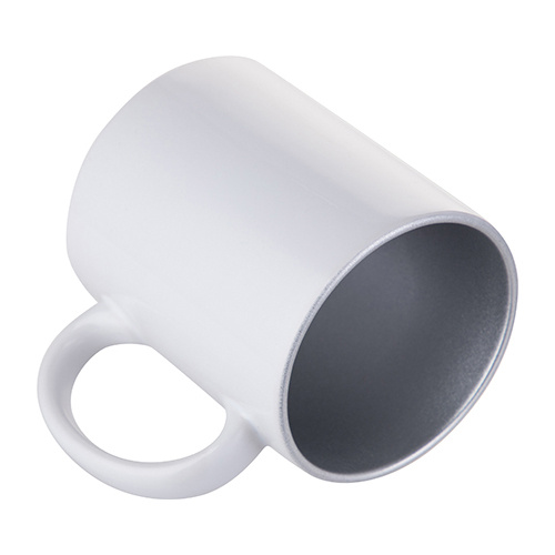 Mug 330ml with silver interior Sublimation Thermal Transfer