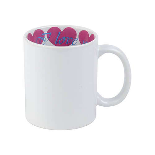 Mug A+ 330 ml with the I love You inside Sublimation Termotransfer