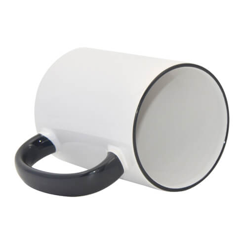 Mug MAX A+ 450 ml with black handle Sublimation Thermal Transfer