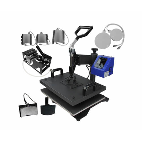 Multifunctional heat press 8 in 1 - model MATE-8IN1-2 Thermal Transfer Sublimation