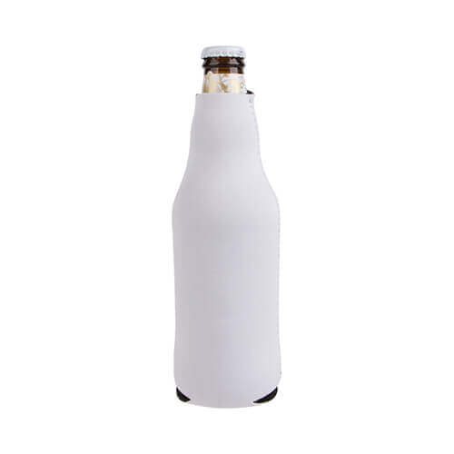 Neoprene bottlehousing with zip for sublimation printing