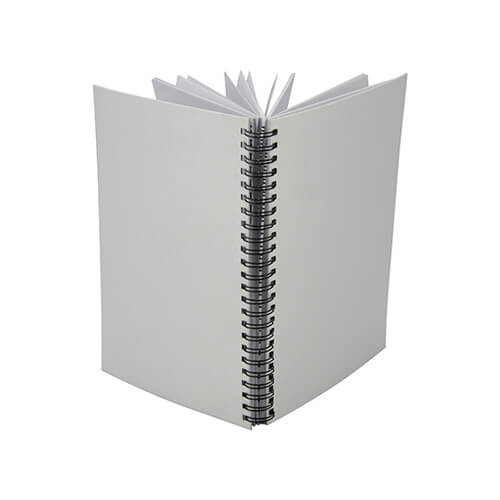 Notebook A5 with polyester cover for sublimation