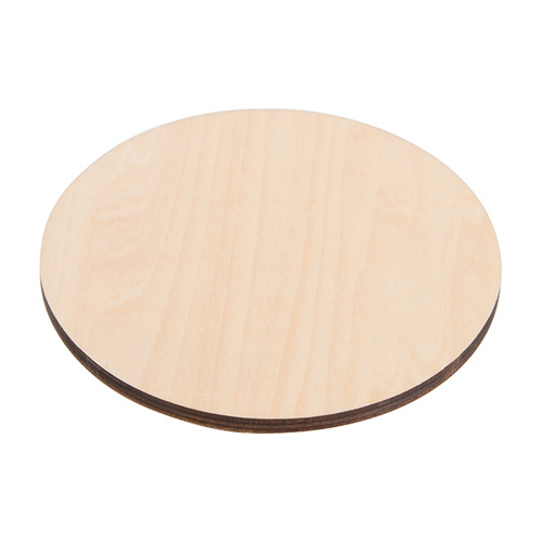 Plywood mug coaster for sublimation – circle