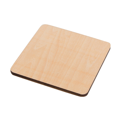 Plywood mug coaster for sublimation – square