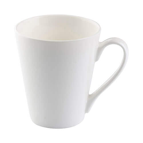 Porcelain Latte mug for thermal-transfer printing
