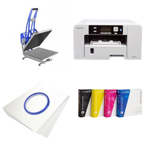 Printing kit for T-shirts Sawgrass Virtuoso SG500 + CLAM-D46 Sublimation Thermal Transfer