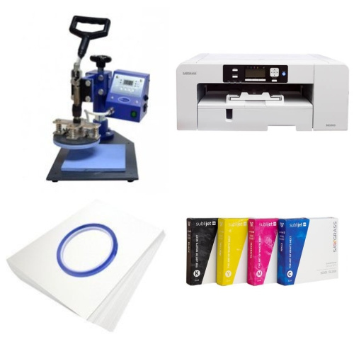 Printing kit for plates Sawgrass Virtuoso SG1000 + SP02 Sublimation Thermal Transfer