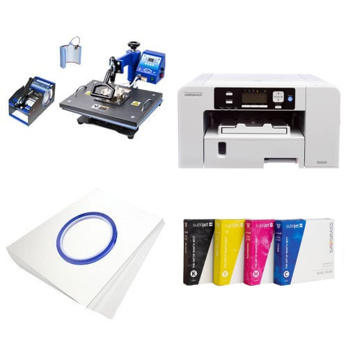 Printing kit multifunctional Sawgrass Virtuoso SG500 + COMBO2 Sublimation Thermal Transfer