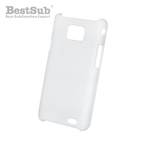 Samsung Galaxy S2 i9100 3D case white mat Sublimation Thermal Transfer