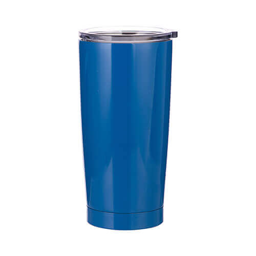 Thermal tumbler 550 ml for sublimation - blue