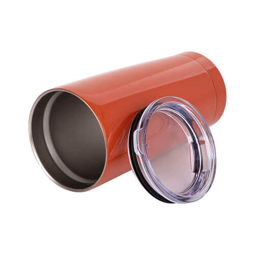 Thermal tumbler 550 ml for sublimation - orange