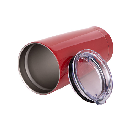 Thermal tumbler 550 ml for sublimation - red