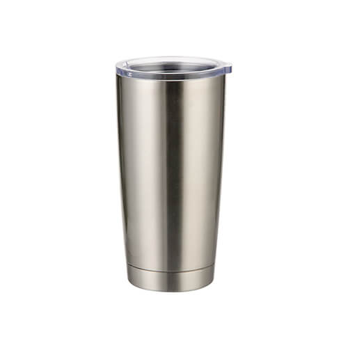 Thermal tumbler 550 ml for sublimation - silver