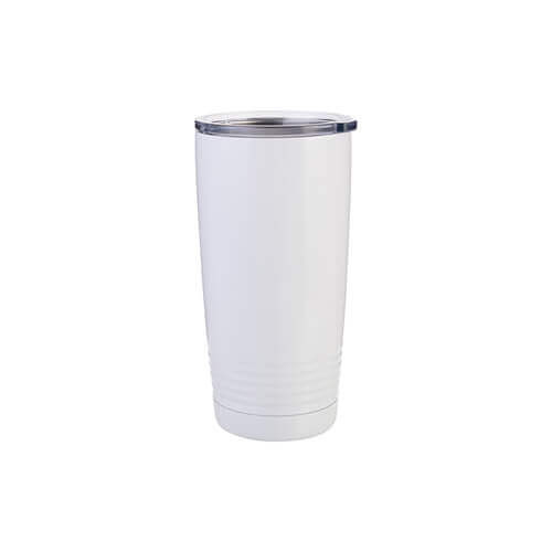 Thermal tumbler 600 ml Ringneck for sublimation - white