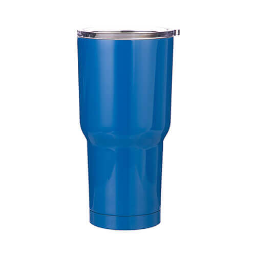 Thermal tumbler 850 ml for sublimation - blue