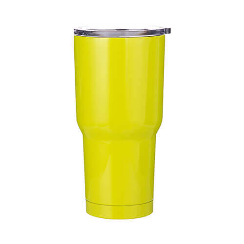 Thermal tumbler 850 ml for sublimation - lemon