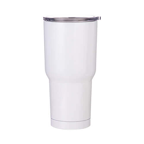 Thermal tumbler 850 ml for sublimation - white