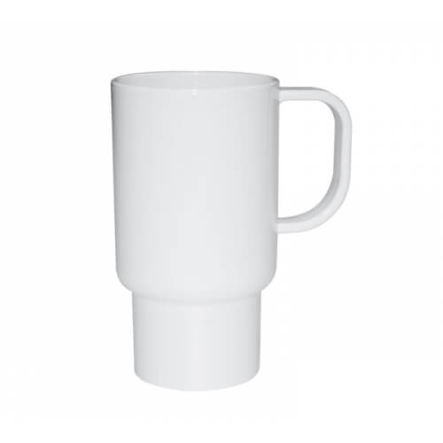 Traveler mug 450 ml plastic Sublimation Thermal Transfer
