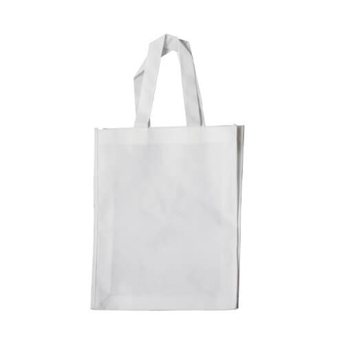 White advertising bag 26 x 32 cm Sublimation Thermal Transfer