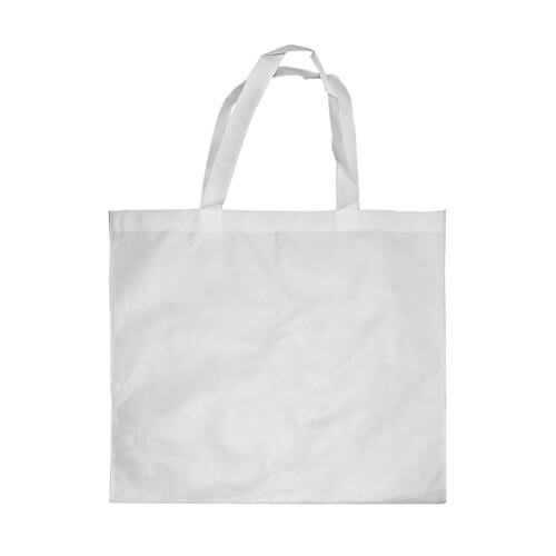 White advertising bag 40 x 40 cm Sublimation Thermal Transfer