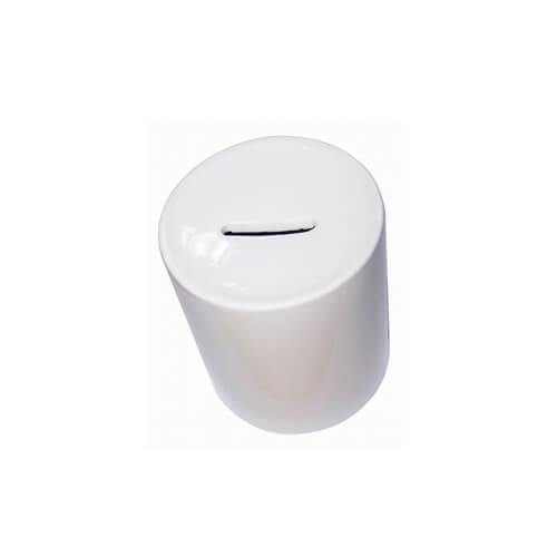 White piggy bank Sublimation Thermal Transfer
