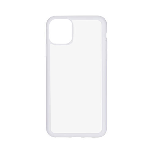 iPhone 11 Pro Max case rubber white Sublimation Thermal Transfer