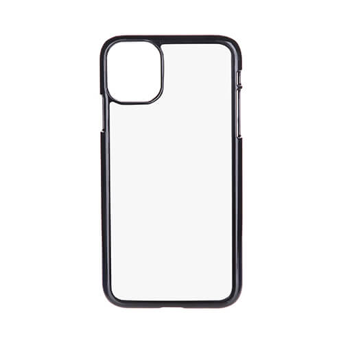 iPhone 11 case plastic black Sublimation Thermal Transfer