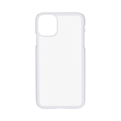 iPhone 11 case plastic white Sublimation Thermal Transfer