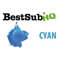 Encre Best Sub HQ - Cyan 1000 ml pour cristaux photo