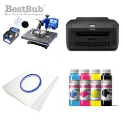 Kit multifunction Epson WF-7210DTW + SD69 Sublimation Transfert Thermique