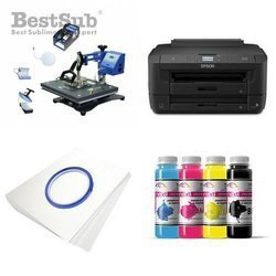 Kit multifunction Epson WF-7210DTW + SD70 Sublimation Transfert Thermique