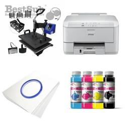 Kit multifunction Epson WF3010DW + MATE-8IN1-1 Sublimation Transfert Thermique