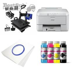 Kit multifunction Epson WF3010DW + MATE-8IN1-3 Sublimation Transfert Thermique
