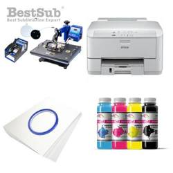 Kit multifunction Epson WF3010DW + SD69 Sublimation Transfert Thermique
