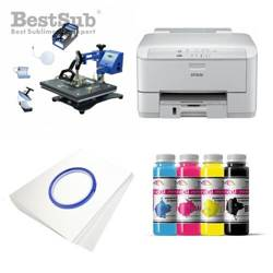 Kit multifunction Epson WF3010DW + SD70 Sublimation Transfert Thermique