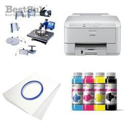 Kit multifunction Epson WF3010DW + SD72 Sublimation Transfert Thermique