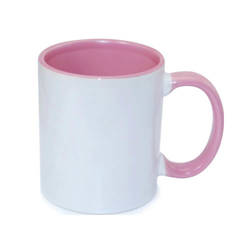 Mug A+ 330 ml FUNNY rose Sublimation Transfert Thermique